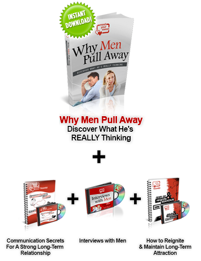 Why Men Pull Away | Discover what he's Really thinking
